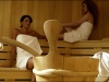 Due donne in sauna